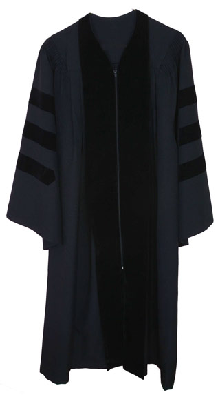 Pleated Doctoral Gown Bachelor Gown,gown,college,faculty,choir,Master's Gown,Doctoral Gown,pleated