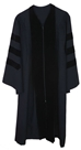 Pleated Doctoral Gown - PDOC