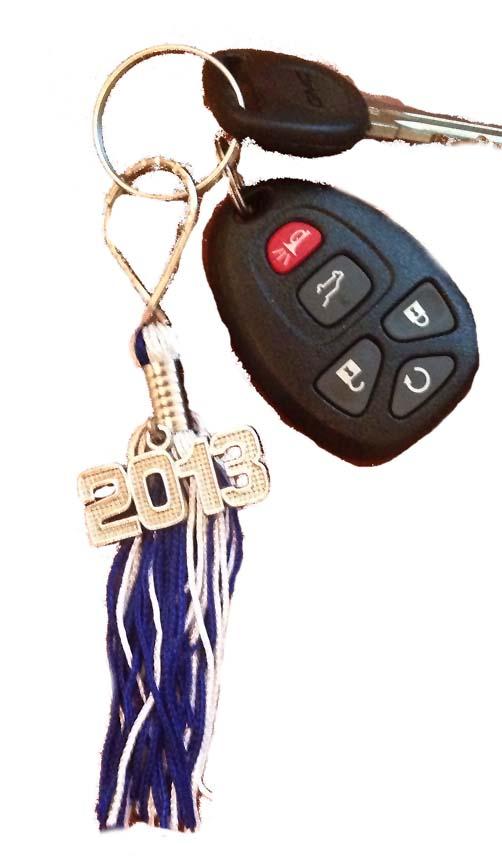 key ring tassels high school college 9inch graduation tassels