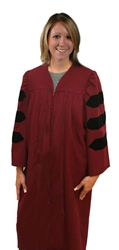 Master's Gown Bachelor Gown,gown,college,faculty,choir,Master's Gown